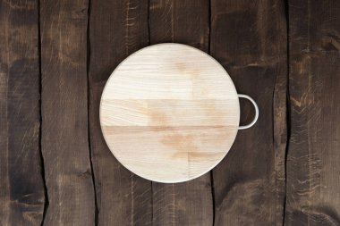 Circular chopping board