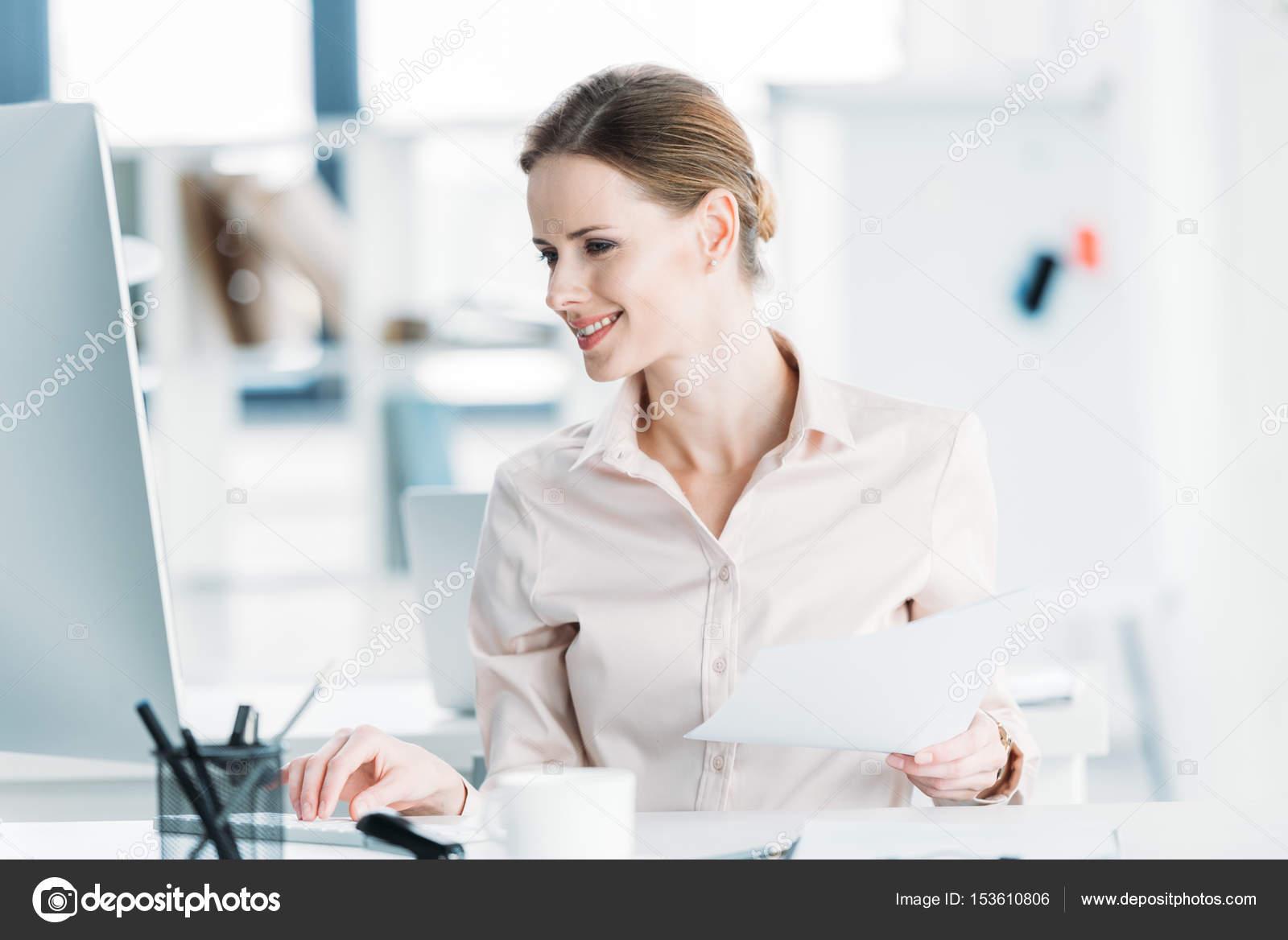 Работа в офисе с документами
