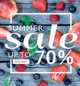 Nápis-Letní výprodej