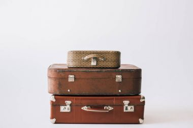 vintage leather suitcases