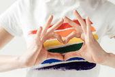 Nő találat szívvel-kézzel