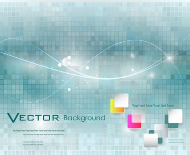 Abstract mosaic background illustration