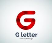 Ikony Logo písmeno g