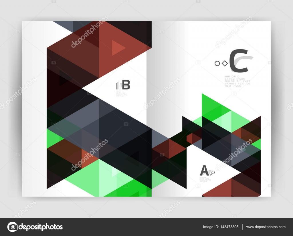 Modernes Business Broschüre oder Flyer drucken Cover Vorlage ...