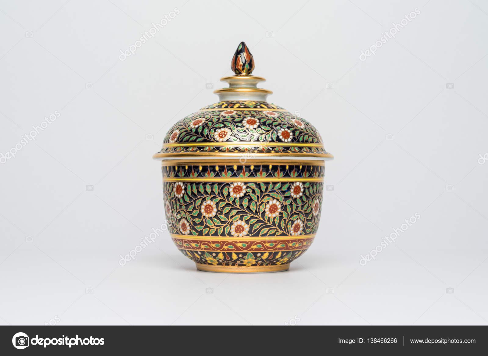 Chińskie Tradycyjne Naczynia Ceramiczne Doniczki Z