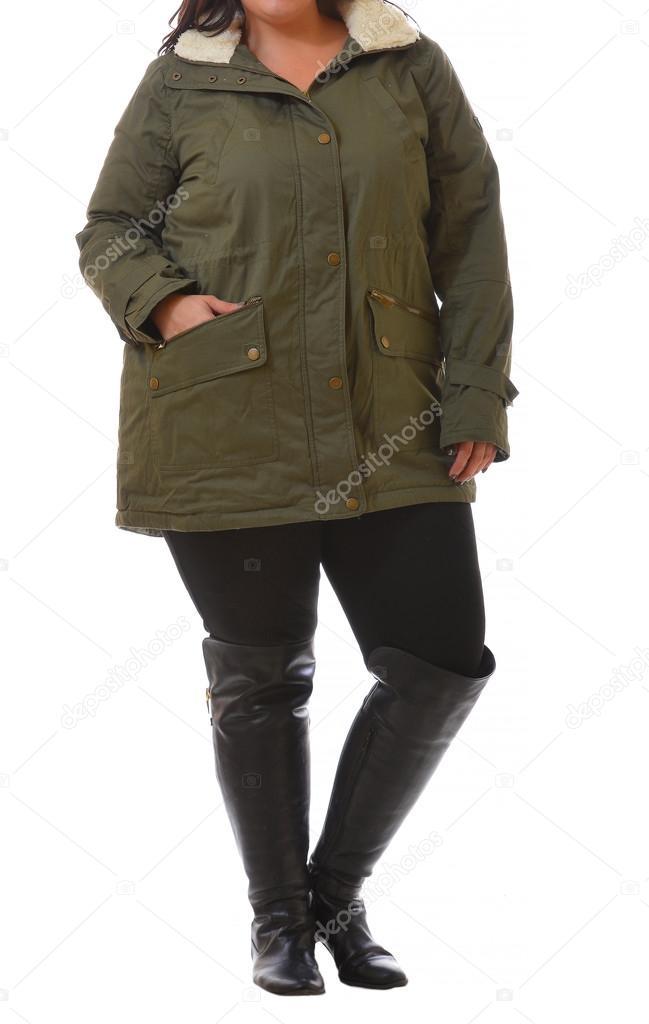 Abrigo xxl mujer