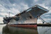 Fotografia Noi Navi portaerei nave da guerra nel porto