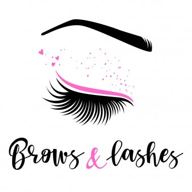 Brows and lashes logo