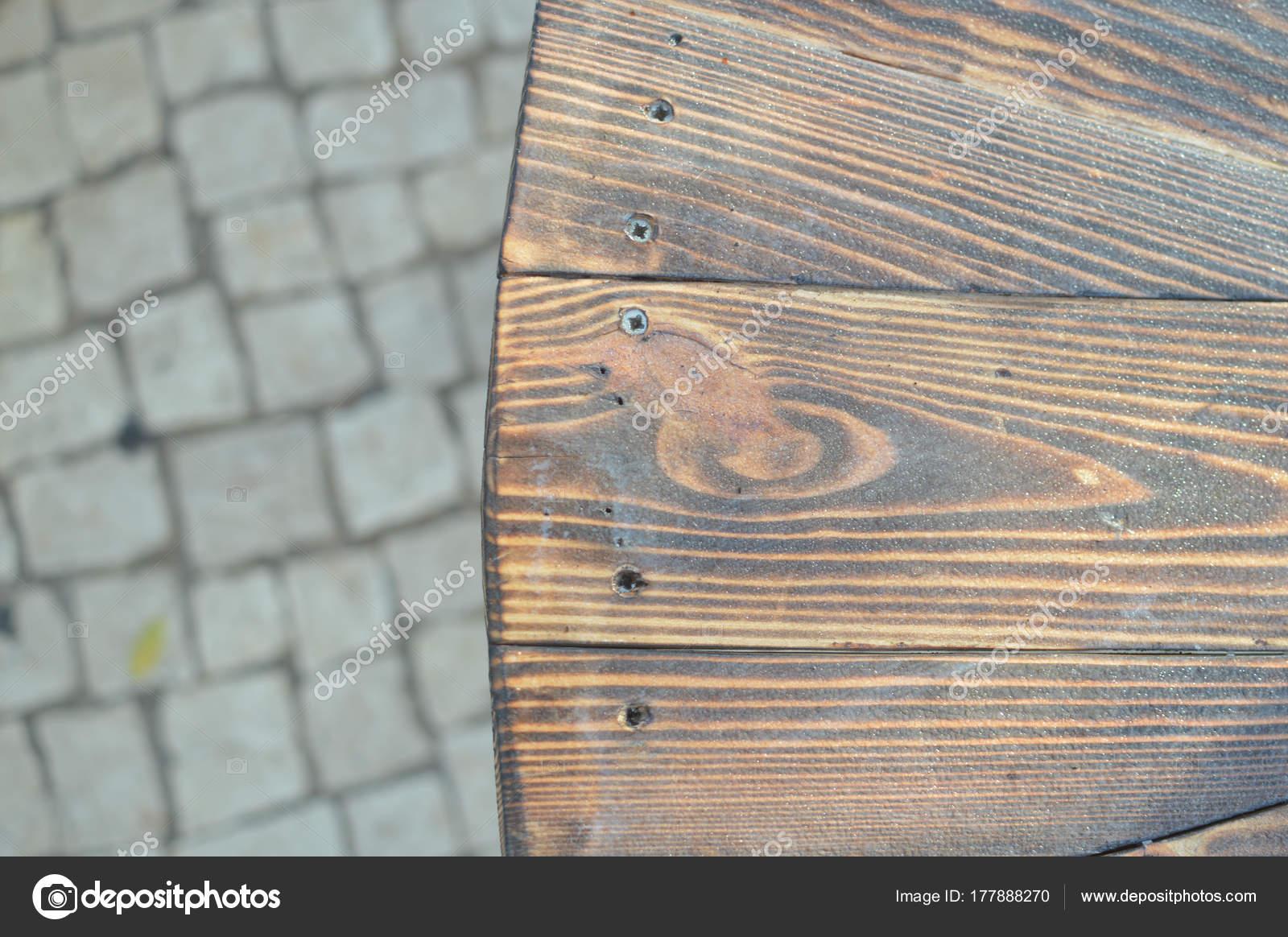 Bouchent Vue Sur Vieille Table Banc Bois Pour Fond Textur  # Banc En Bois Brule