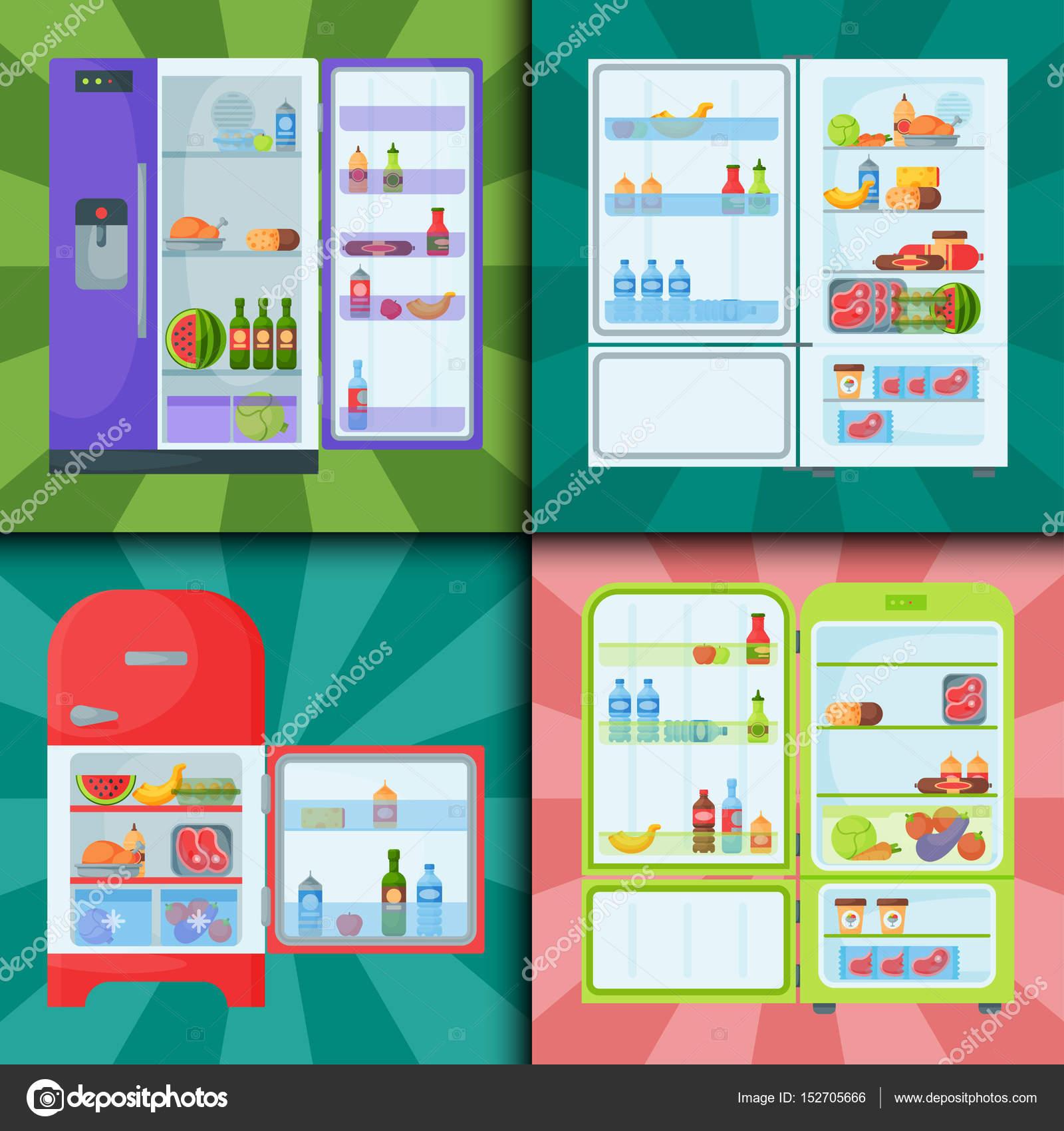 Kühlschrank Bio Geschirr Haushalt Utensil Kühlschrank Gerät ...