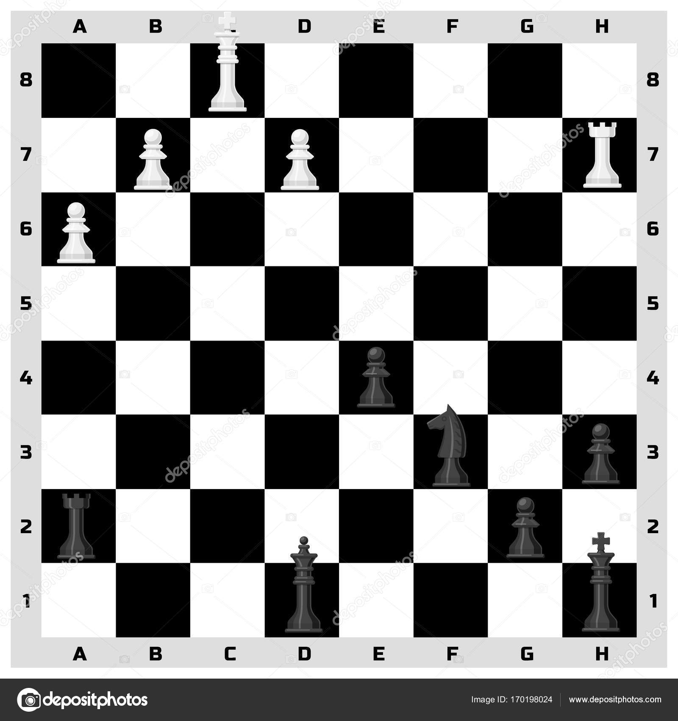 Pieza de ajedrez tablero de patrones sin fisuras fondo piezas de ...