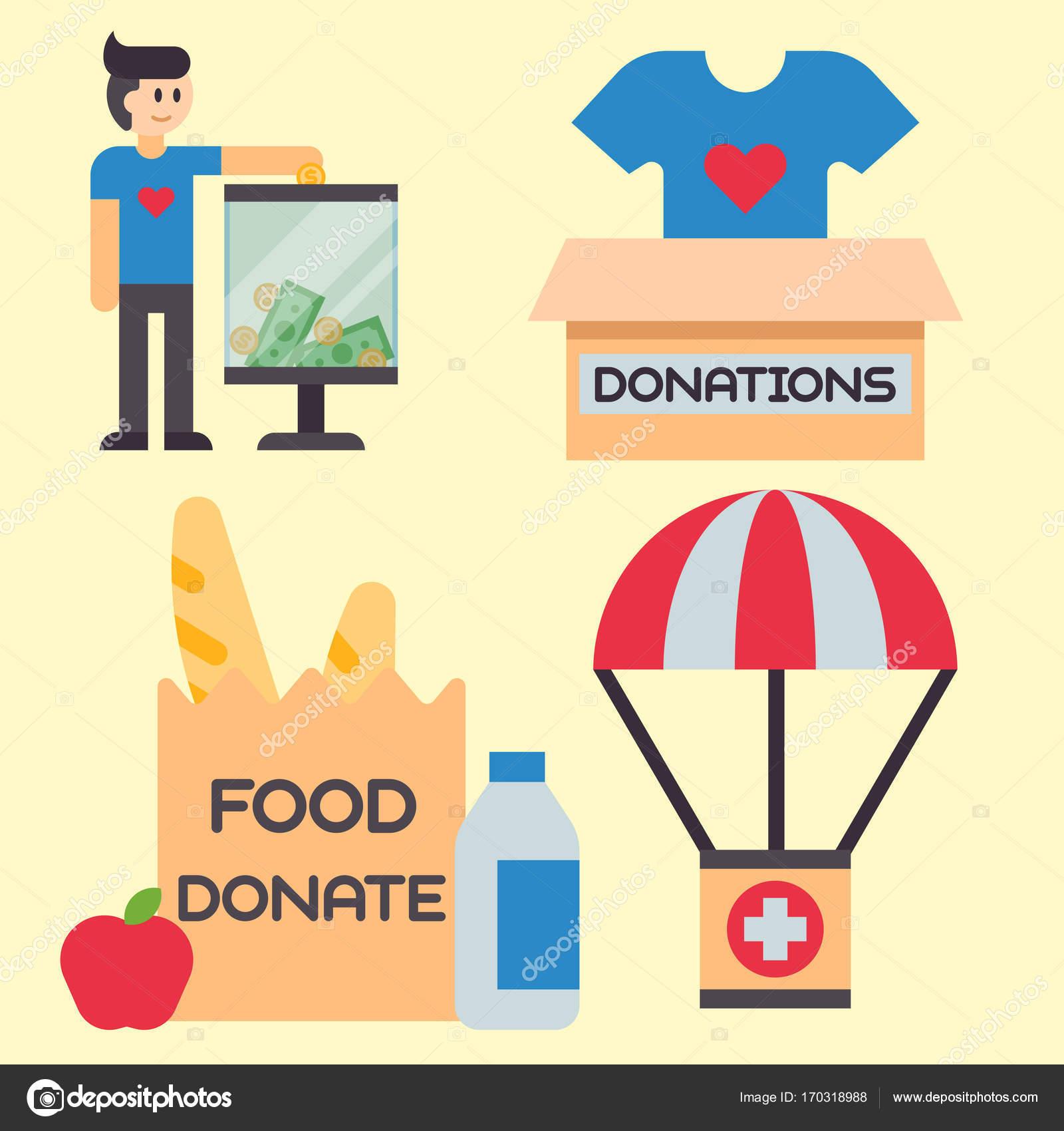Faire Un Don D Argent Coffret Symboles Aide Philanthropie Don