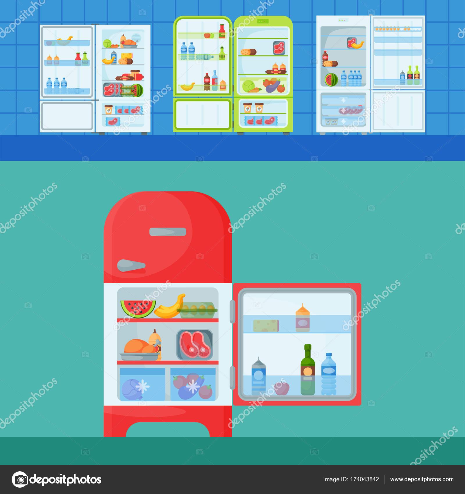 Refrigerator organic food kitchenware household utensil fridge ...
