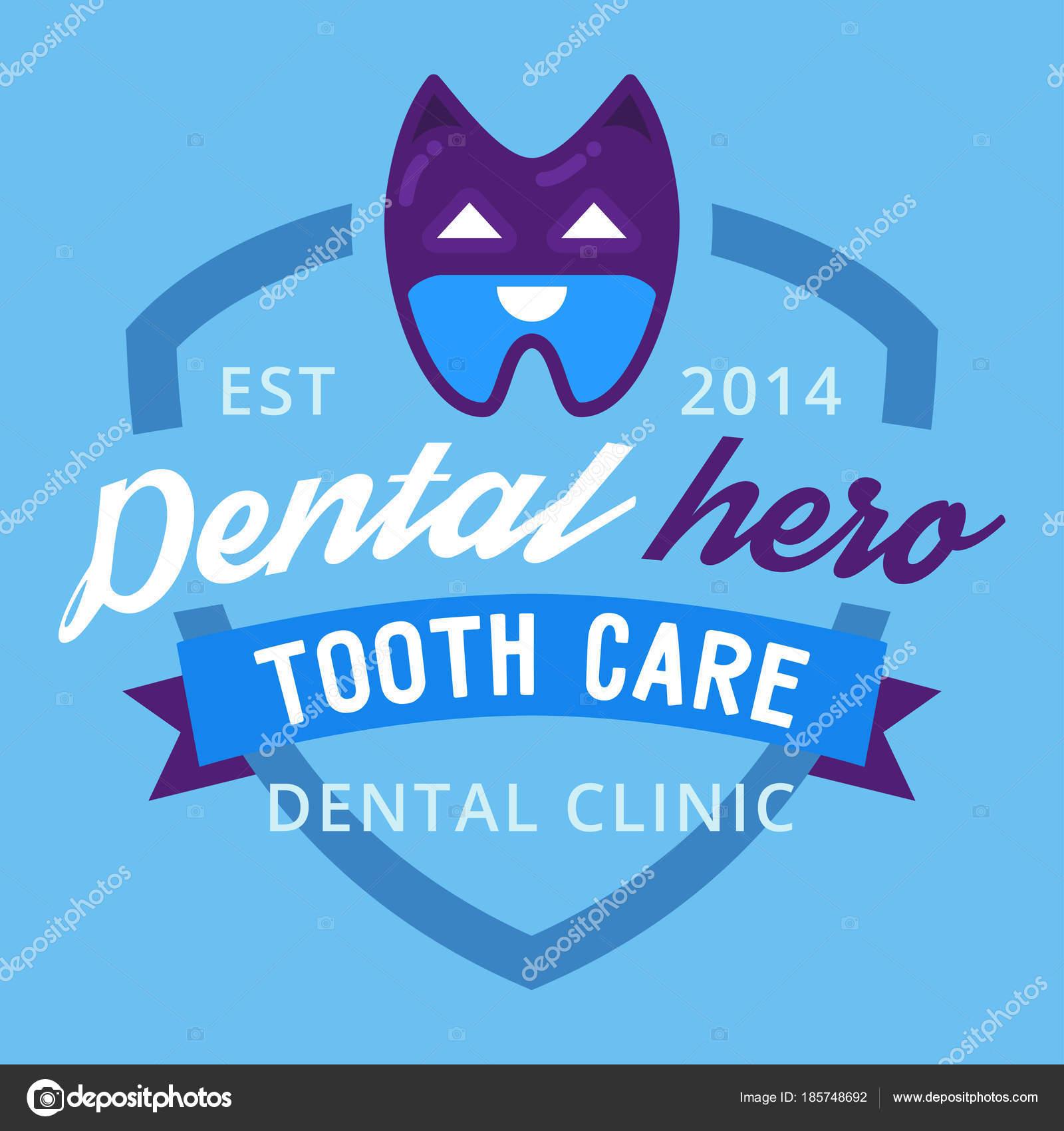 Vector logo dental protección plantilla ilustración Estomatología ...