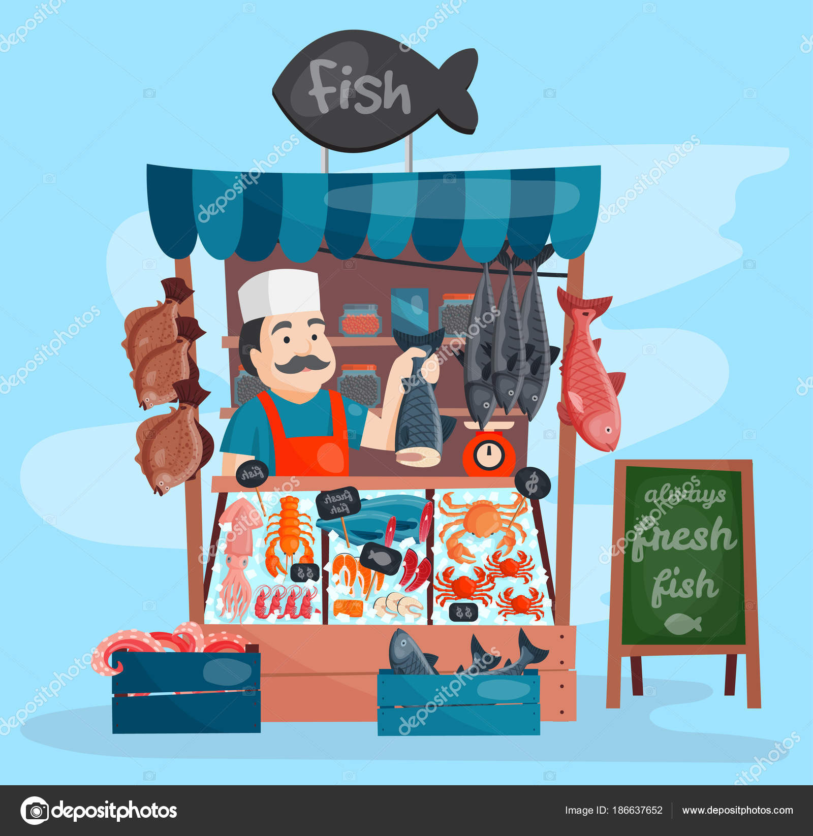 for Online fish store