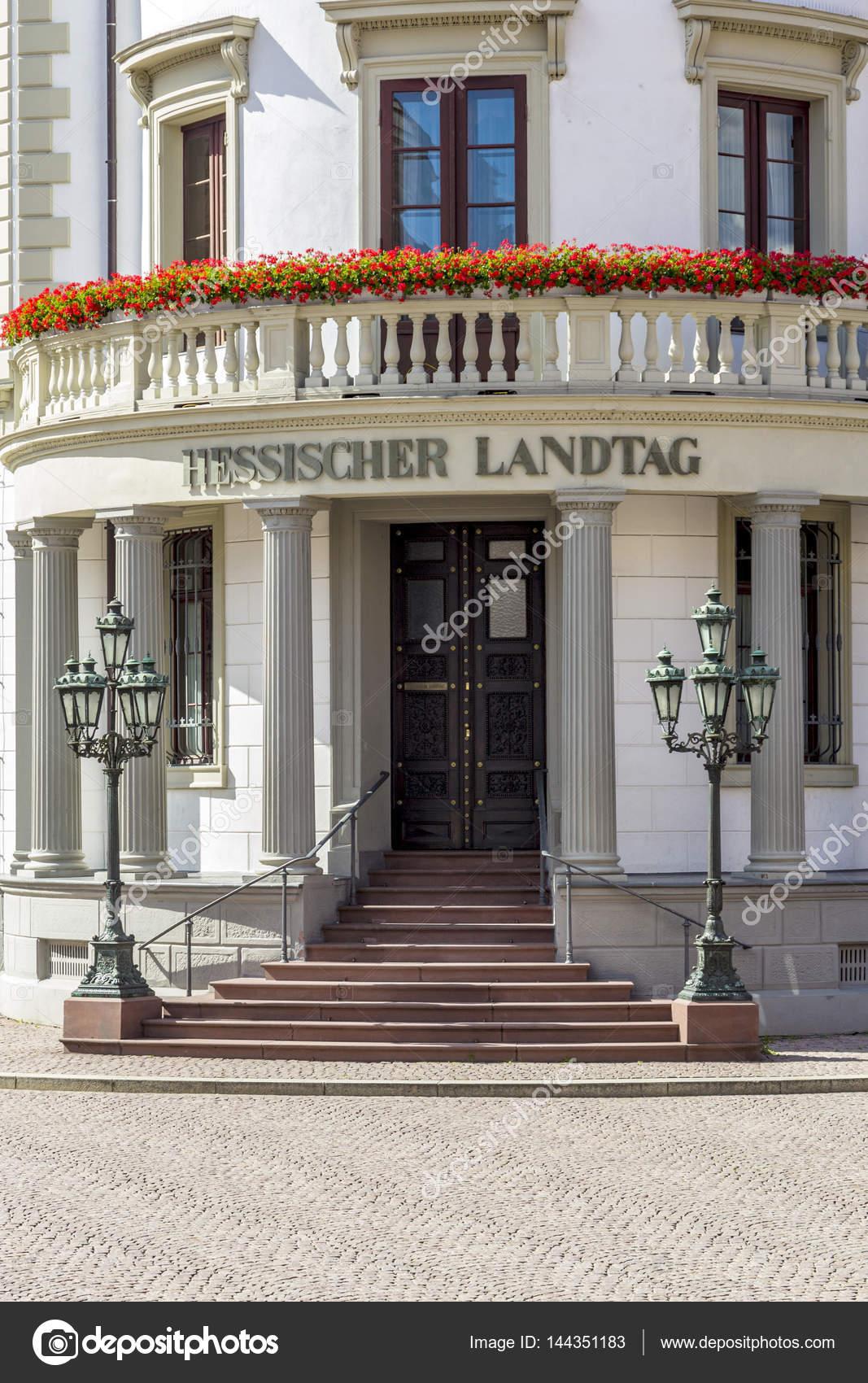 Haus der Politik den hessischen Landtag in Wiesbaden