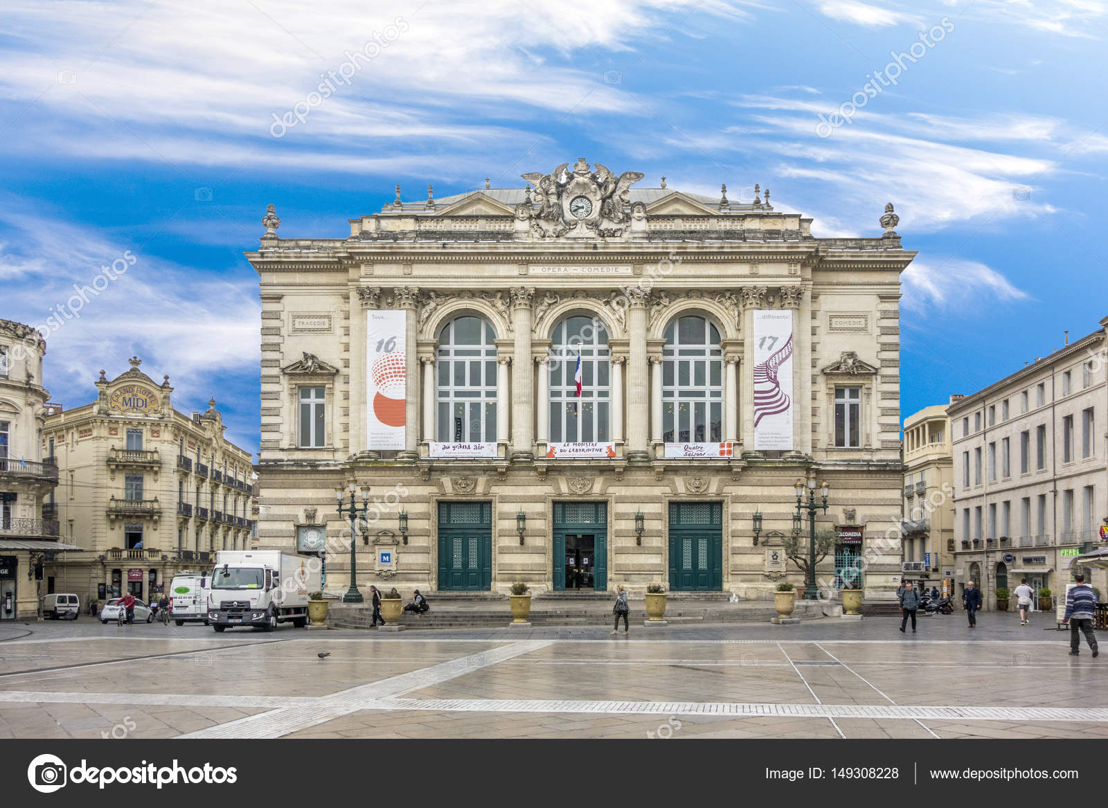 Theatre of Opera and Comedy in Montpellier 9