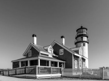 The Highland Light, also known as the Cape Cod Light is one of t