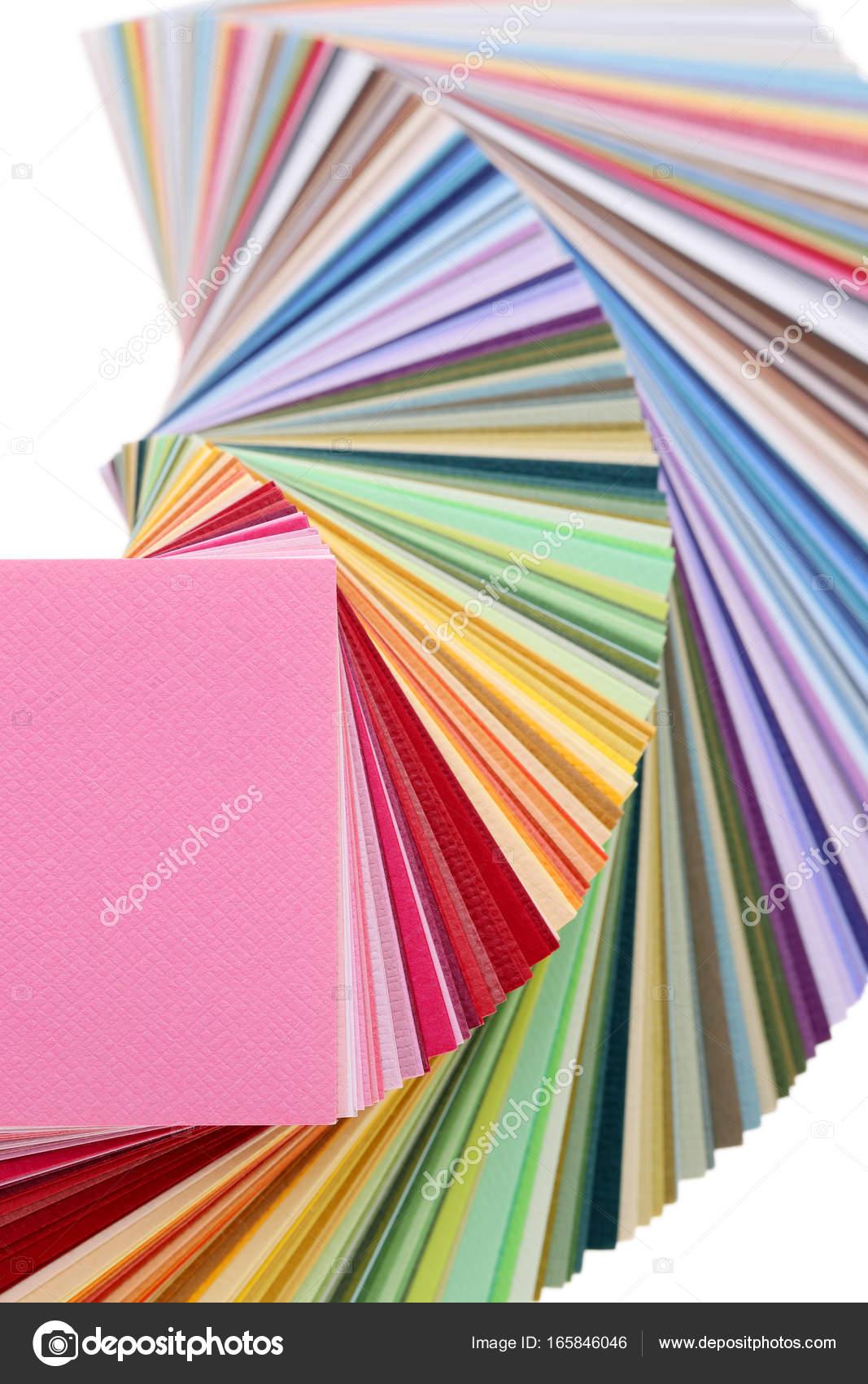 Libro de muestras de color — Fotos de Stock © akiyoko74 #165846046