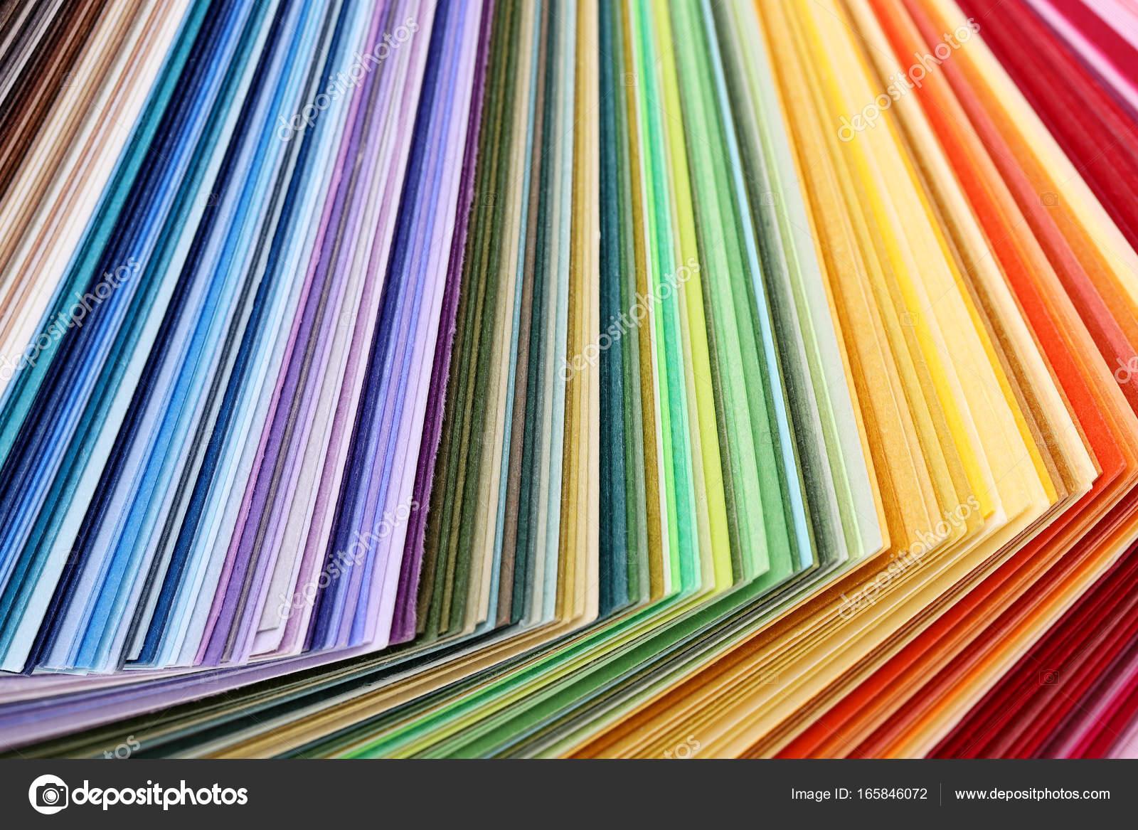 Libro de muestras de color — Fotos de Stock © akiyoko74 #165846072