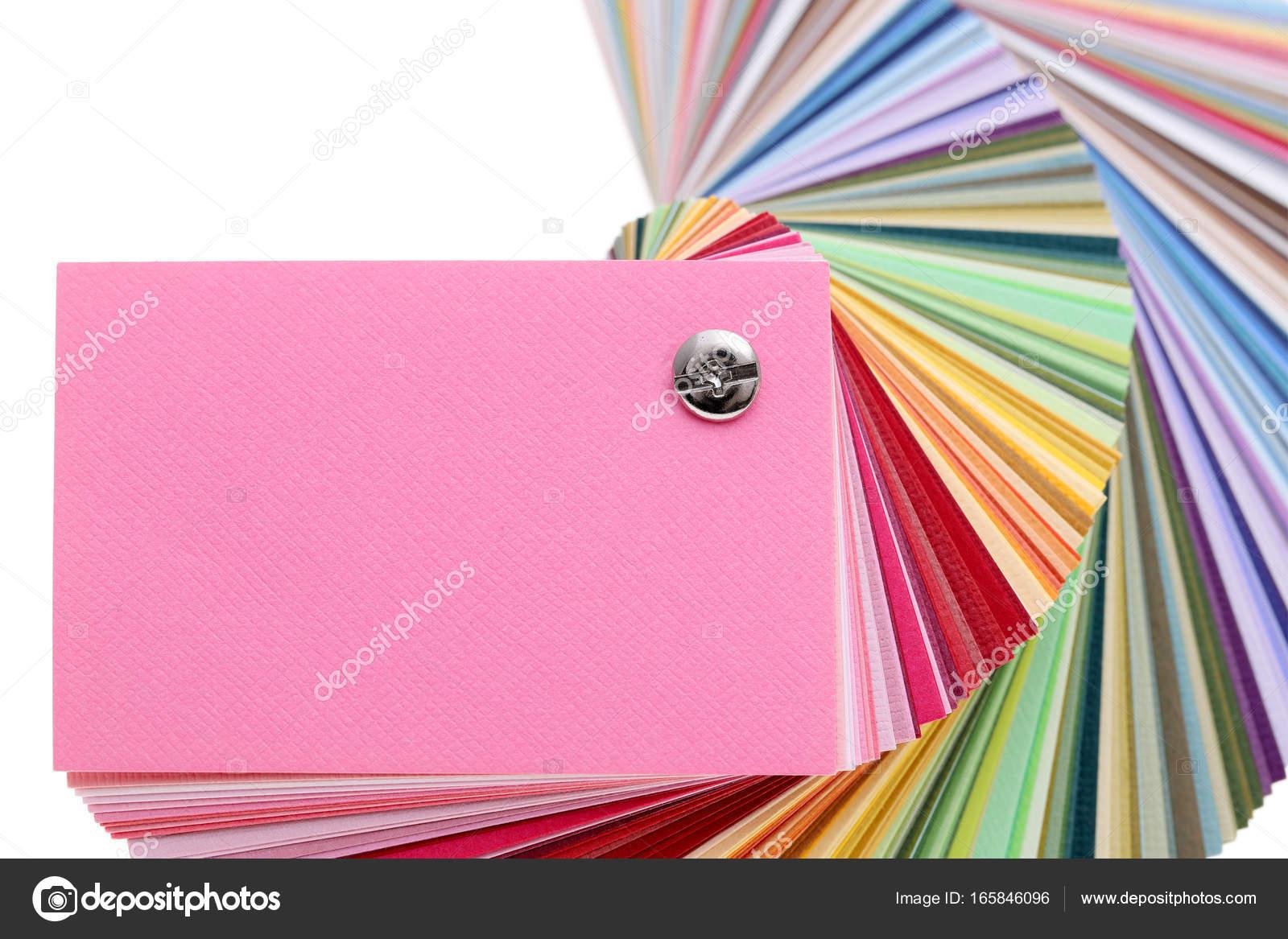 Libro de muestras de color — Foto de stock © akiyoko74 #165846096