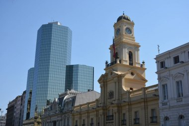 Cathedral and christian church in Santiago Chile