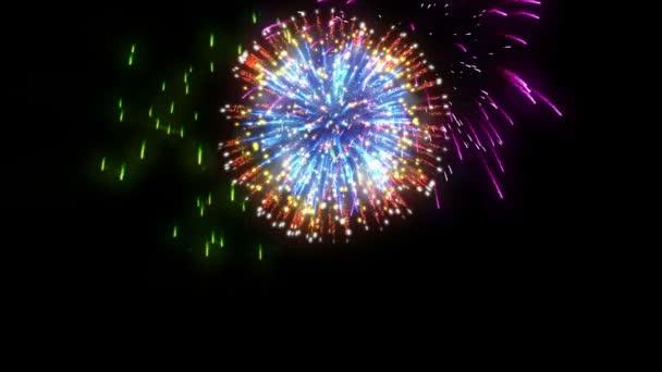 Holiday tűzijáték fekete ellen