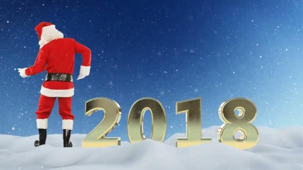 Mikulás tánc és 2018 szöveg, hó