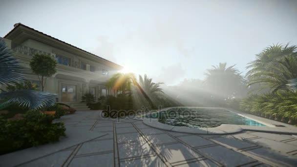 Villa mit Pool zu verkaufen, schöne Sonnenstrahlen