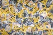 Fotografia Priorità bassa australiana dei soldi Extra Large