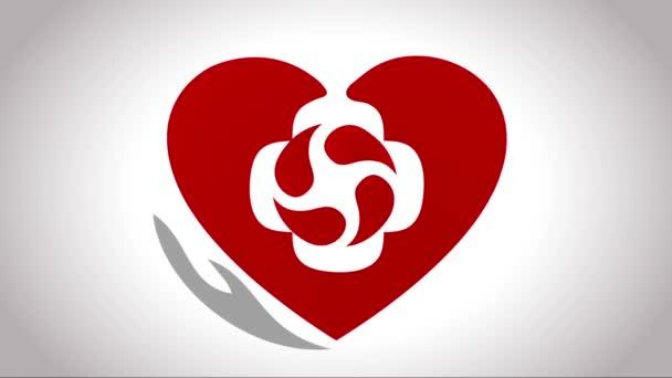 Szív kezelés szimbólum, felni belsejében a szív.