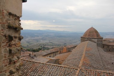 Cupola del battistero Volterra