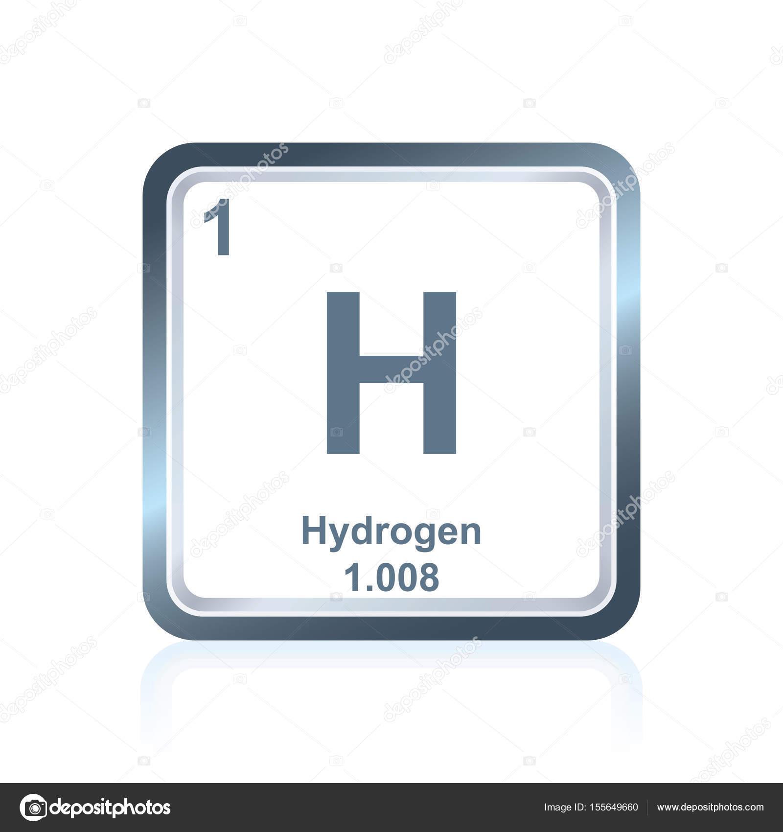 Hidrgeno del elemento qumico de la tabla peridica archivo smbolo del hidrgeno del elemento qumico segn lo visto en la tabla peridica de los elementos incluyendo el nmero atmico y peso atmico vector de urtaz Image collections