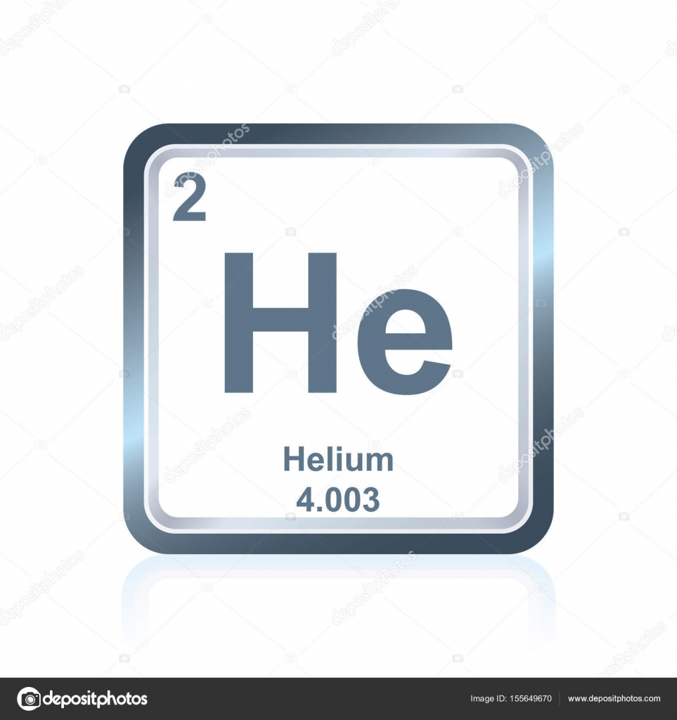 Chemical element helium from the periodic table stock vector symbol of chemical element helium as seen on the periodic table of the elements including atomic number and atomic weight vector by noedelhap buycottarizona