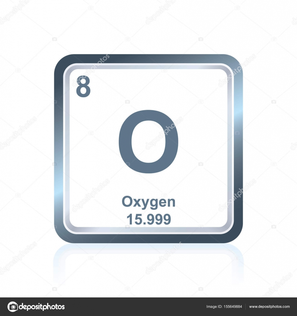 Chemical element oxygen from the periodic table stock vector symbol of chemical element oxygen as seen on the periodic table of the elements including atomic number and atomic weight vector by noedelhap urtaz Images