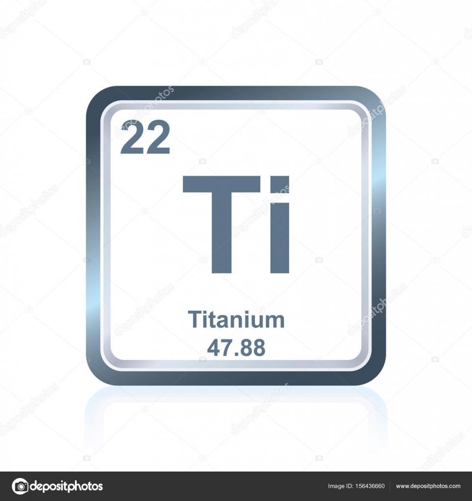 Titanio elemento qumico de la tabla peridica archivo imgenes titanio elemento qumico de la tabla peridica archivo imgenes vectoriales urtaz Choice Image