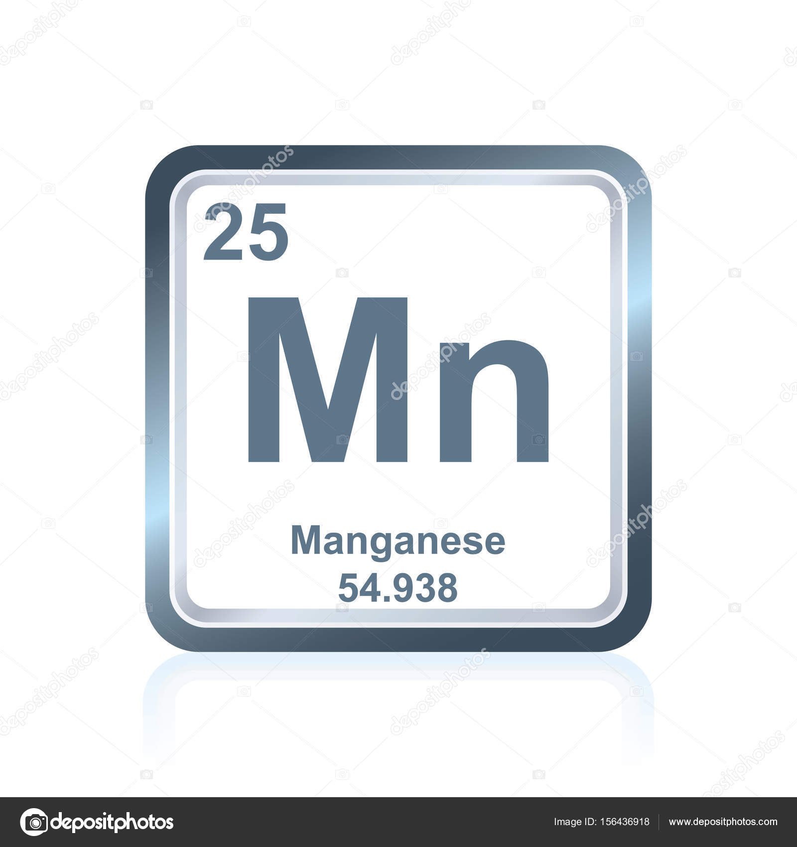 Chemical element manganese from the periodic table stock vector chemical element manganese from the periodic table stock vector 156436918 gamestrikefo Images