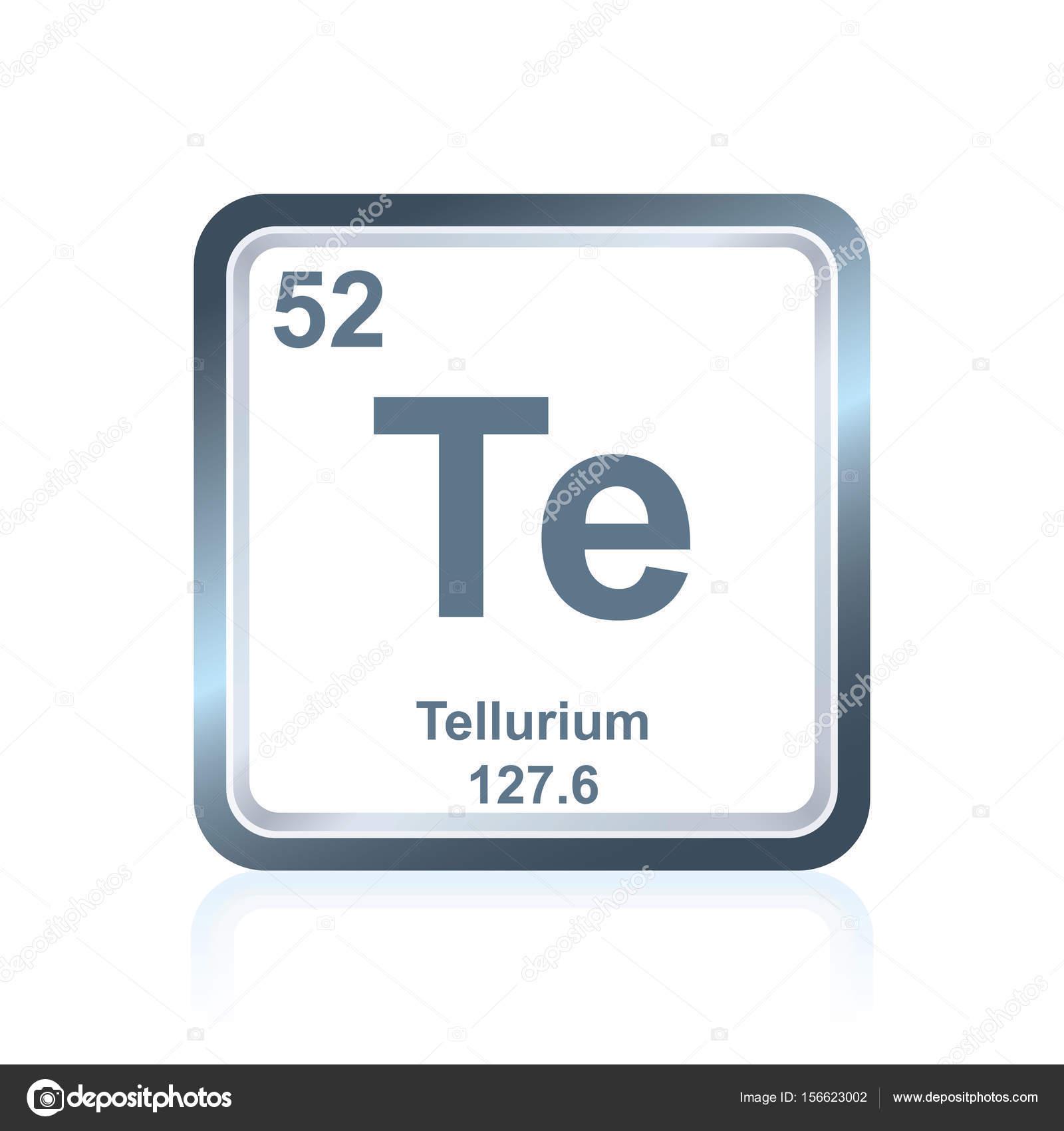 Telurio de elemento qumico de la tabla peridica archivo imgenes telurio de elemento qumico de la tabla peridica archivo imgenes vectoriales urtaz Gallery