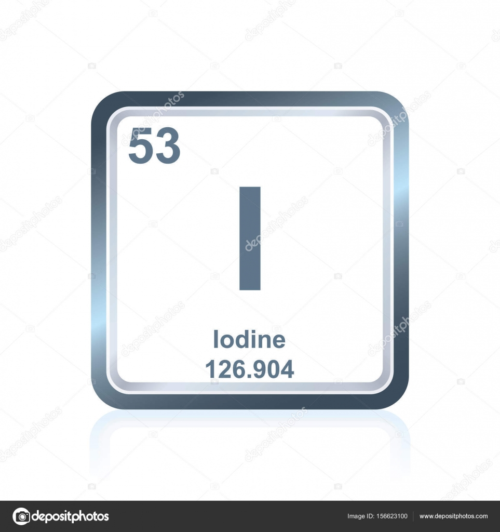 Yodo elemento qumico de la tabla peridica vector de stock yodo elemento qumico de la tabla peridica vector de stock urtaz Image collections