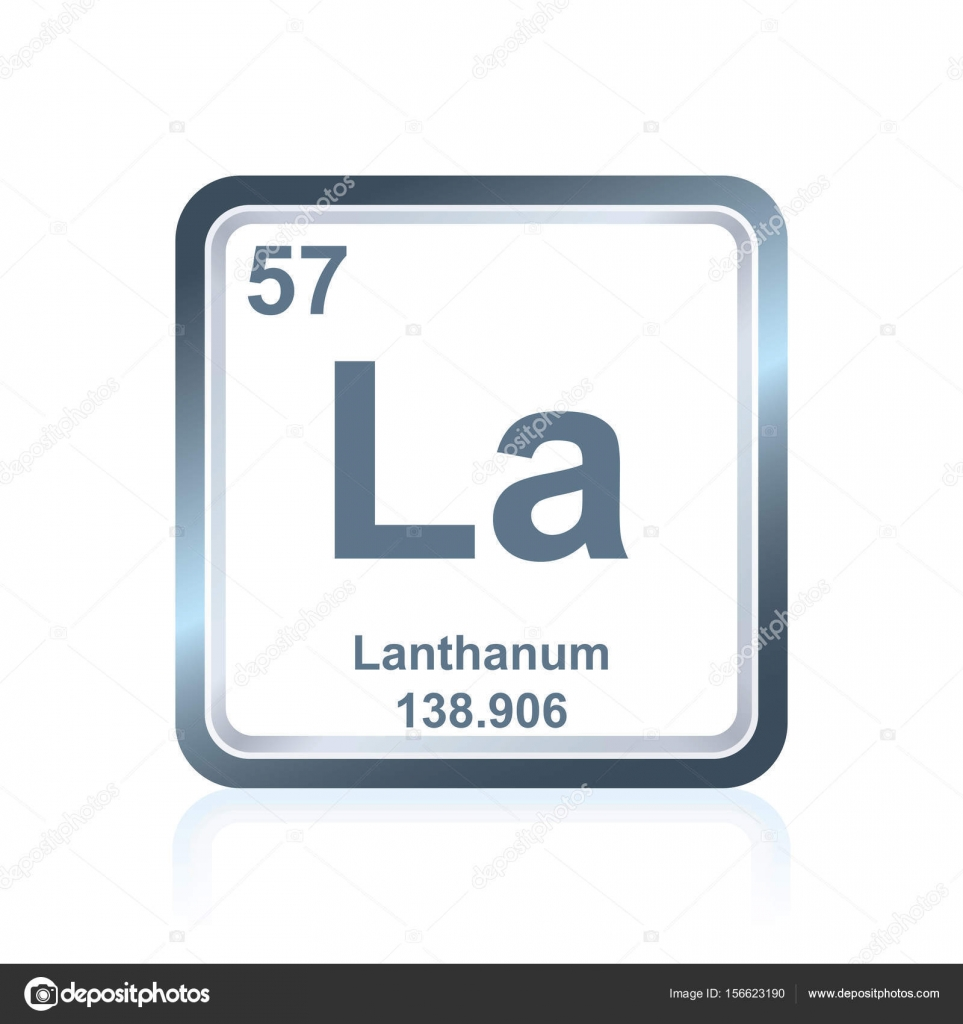 Chemical element lanthanum from the periodic table stock vector chemical element lanthanum from the periodic table stock vector 156623190 gamestrikefo Image collections