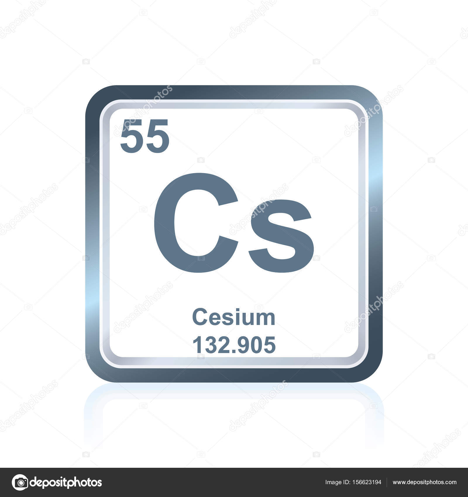 Chemical element cesium from the periodic table stock vector chemical element cesium from the periodic table stock vector 156623194 gamestrikefo Choice Image