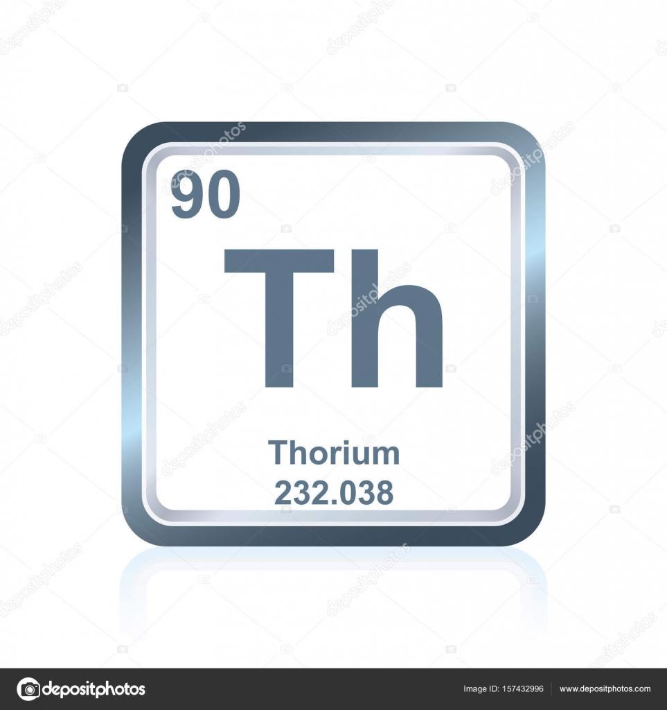 Torio de elemento qumico de la tabla peridica vector de stock torio de elemento qumico de la tabla peridica vector de stock urtaz Image collections
