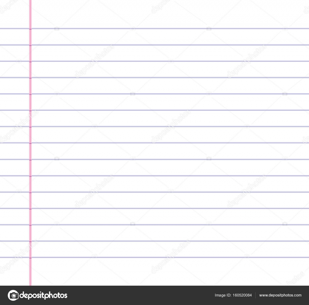 Wallpaper Lined Paper: Lined Or Ruled Paper Background