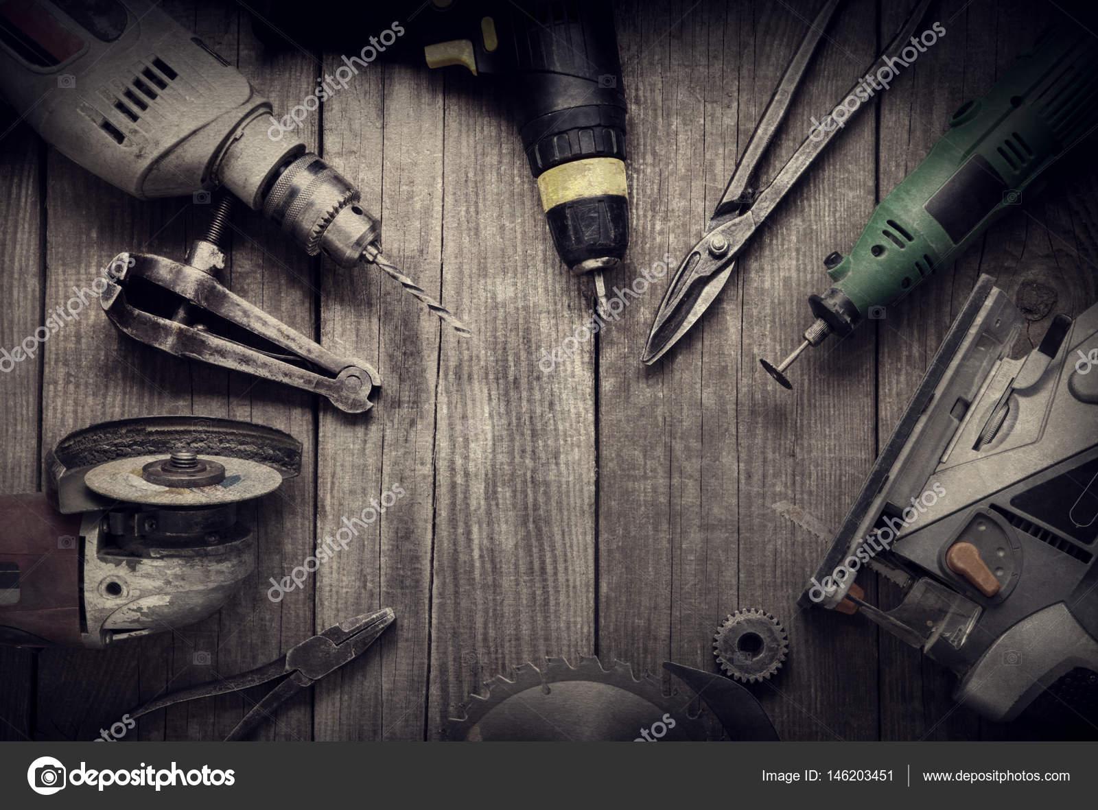 Mano eléctrica herramientas (ensambladora de jigsaw Sierra taladro ...