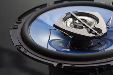 three-way speaker system, coaxial speaker, car audio music, subw