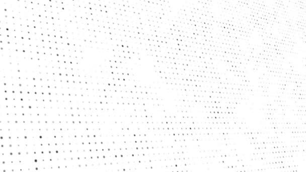 Abstraktní firemní tečky s pozadím smyčky částice