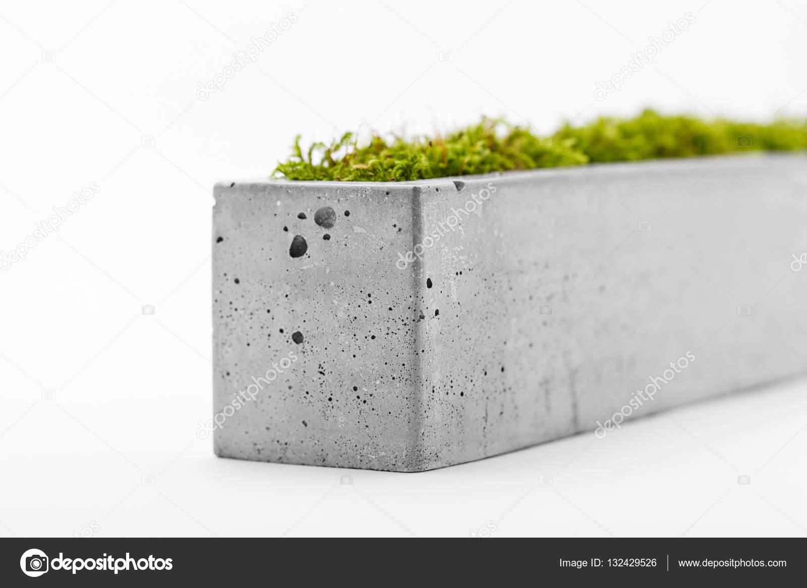 trendige topf beton — stockfoto © yuryrumovsky #132429526