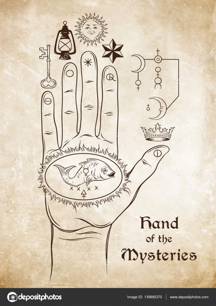 The Hand Of The Mysteries The Alchemical Symbol Of Apotheosis The