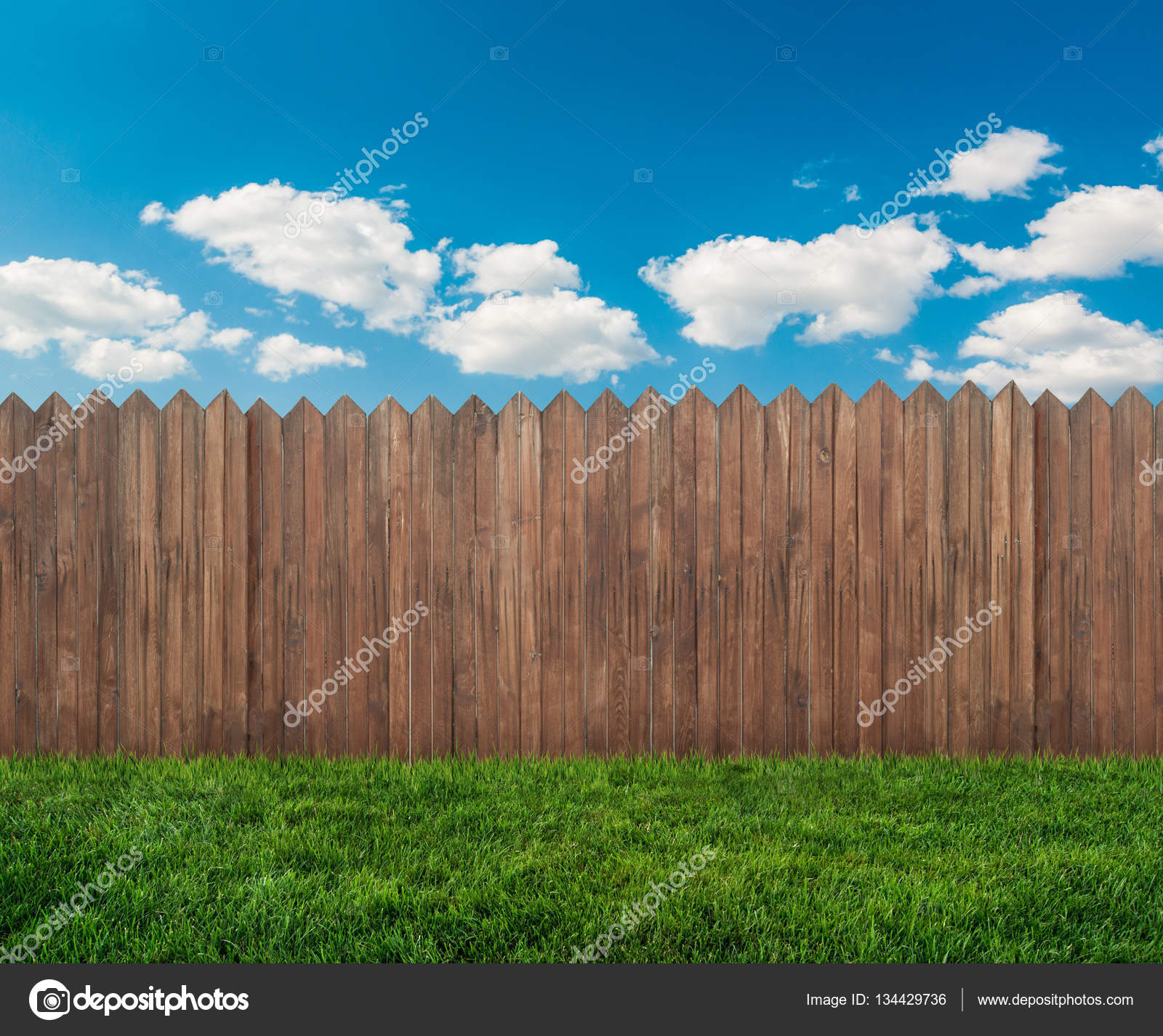 Gartenzaun — Stockfoto