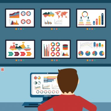 website statistics concept